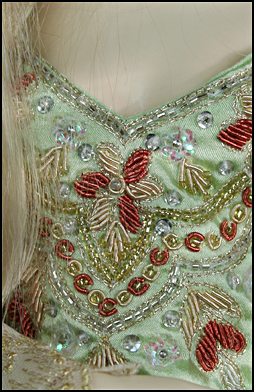 Zardosi - embroidery with metal thread